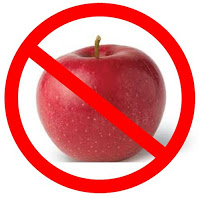 no apples