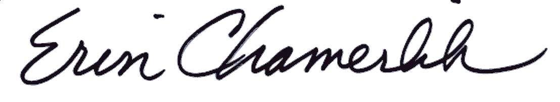 Erin signature