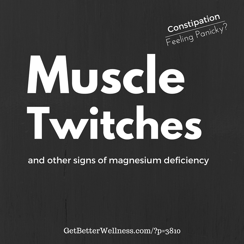 GBW Magnesium Muscle Twitches