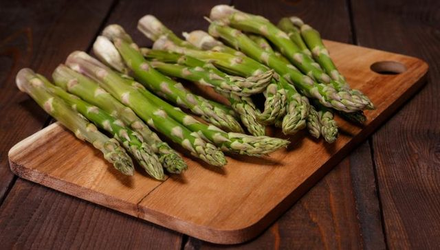 asparagus for UTI infections