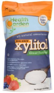 UTI birch bark xylitol