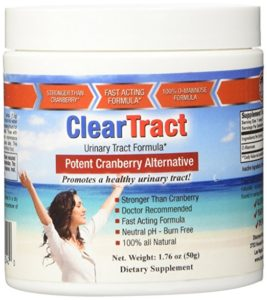 ClearTract for UTI urinary tract d-mannose
