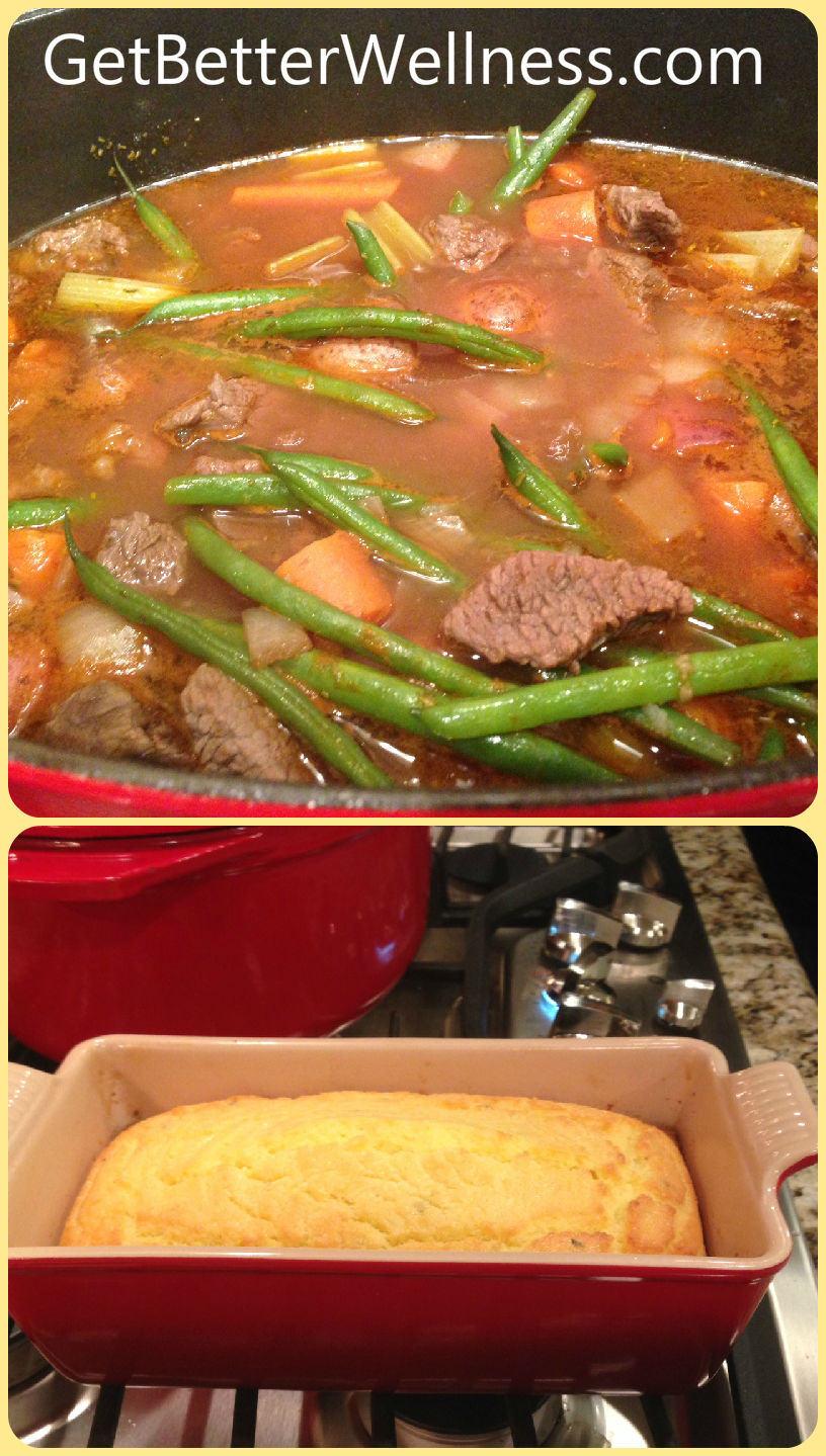 091614 Beef Stew & Coconut Bread