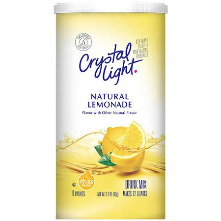 can i use crystal light on keto diet