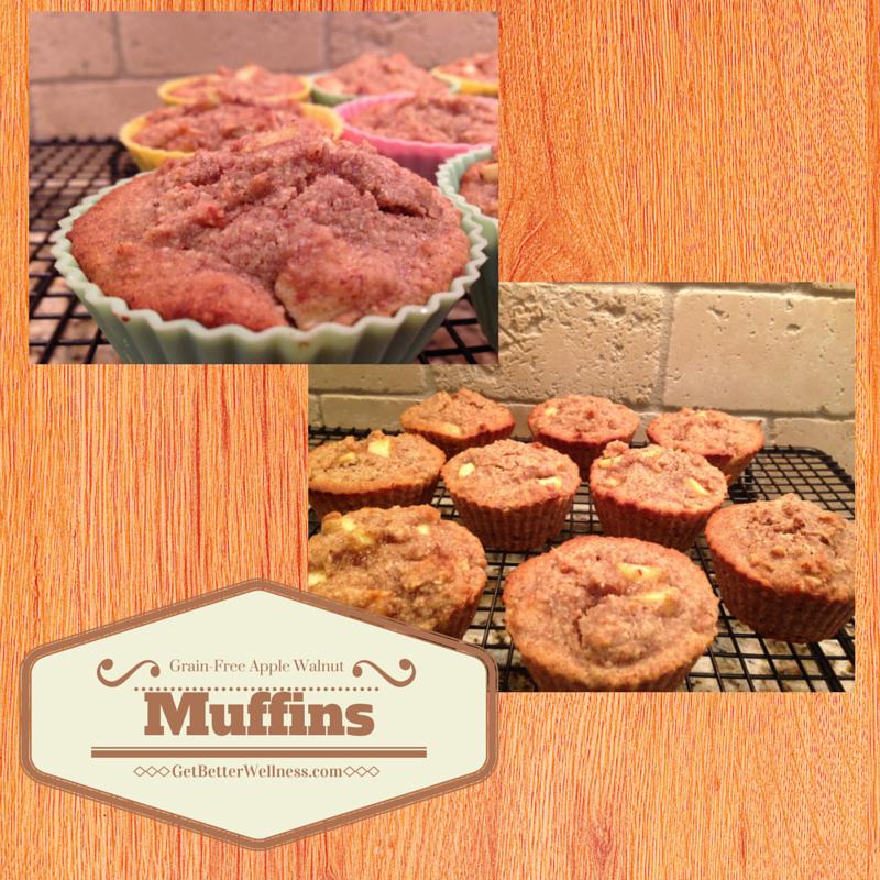 Erin Cinnamon Apple Walnut Muffins