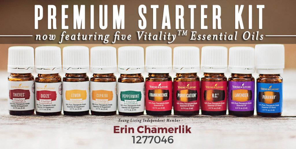 YL Premium Starter Kit Oils Vitality with Chamerlik