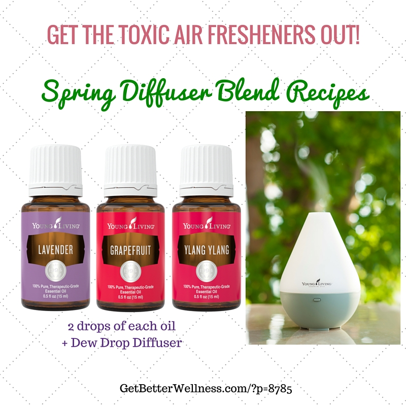 YL GBW Graphic Diffuser Lavender Grapefruit Ylang Yland Spring Blend