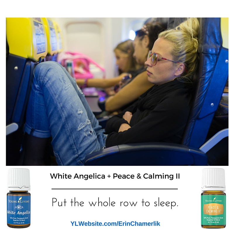 YL GBW White Angelica + Peace & Calming **