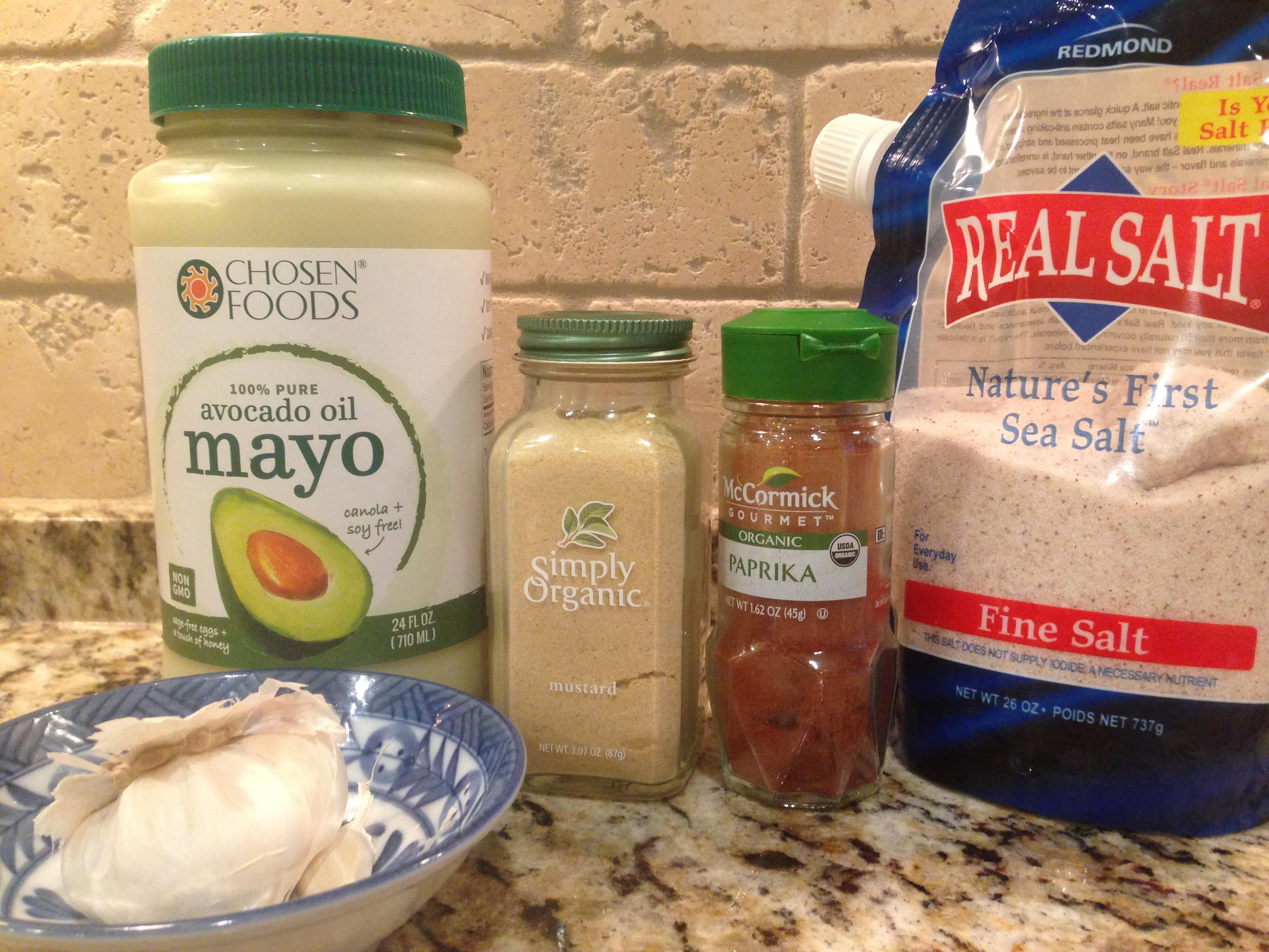 Aioli sauce ingredients