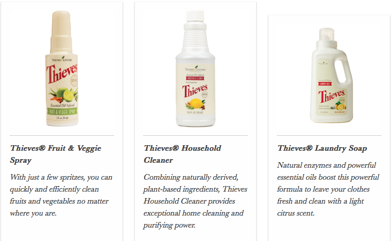 Thieves Laundry Household Cleaner Veggie Spray