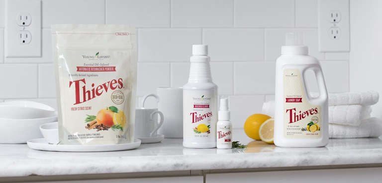 Thieves Cleaning Products Young Living