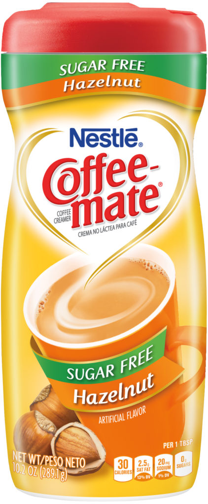 ingredients in coffee creamer