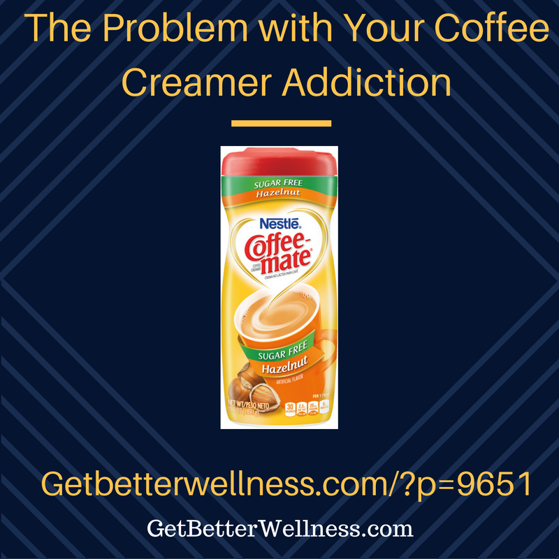 coffee creamer addiction