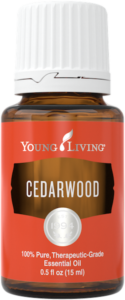 Cedarwood essential oil from Young Living