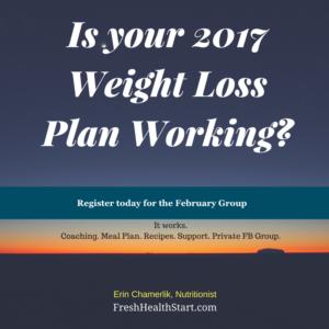 Fresh Health Start 2017 Weight Loss Plan Working?