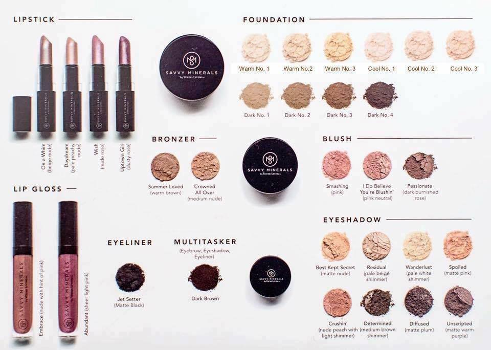 YL Savvy Minerals All Colors