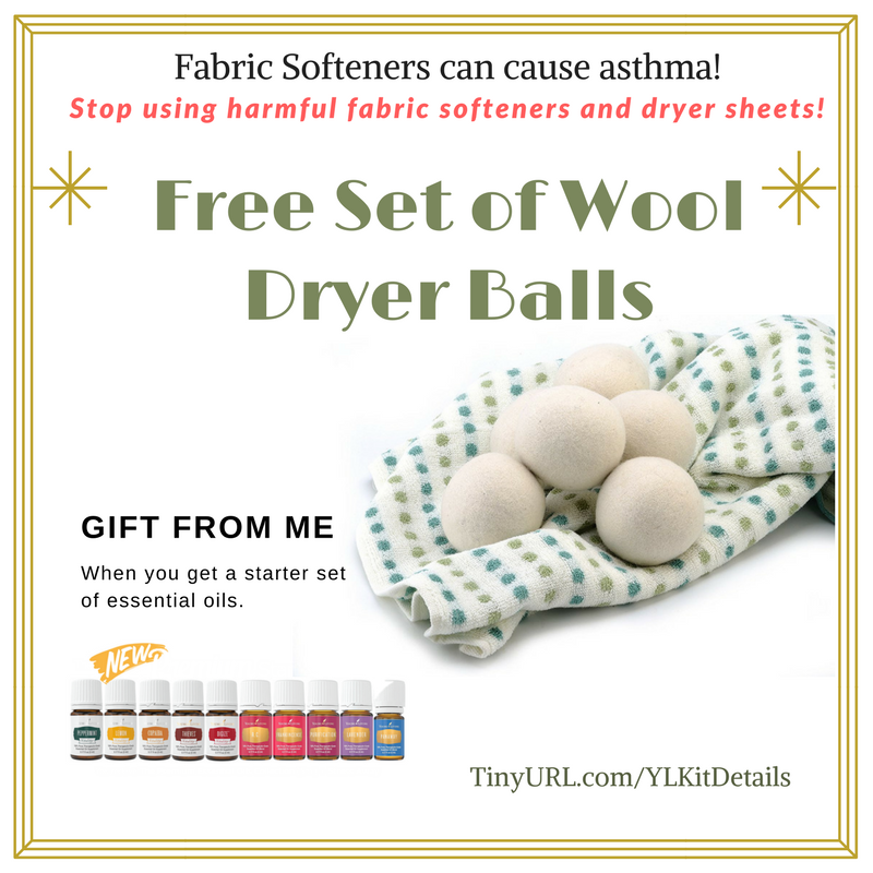 Free Set of Wool Dryer Balls