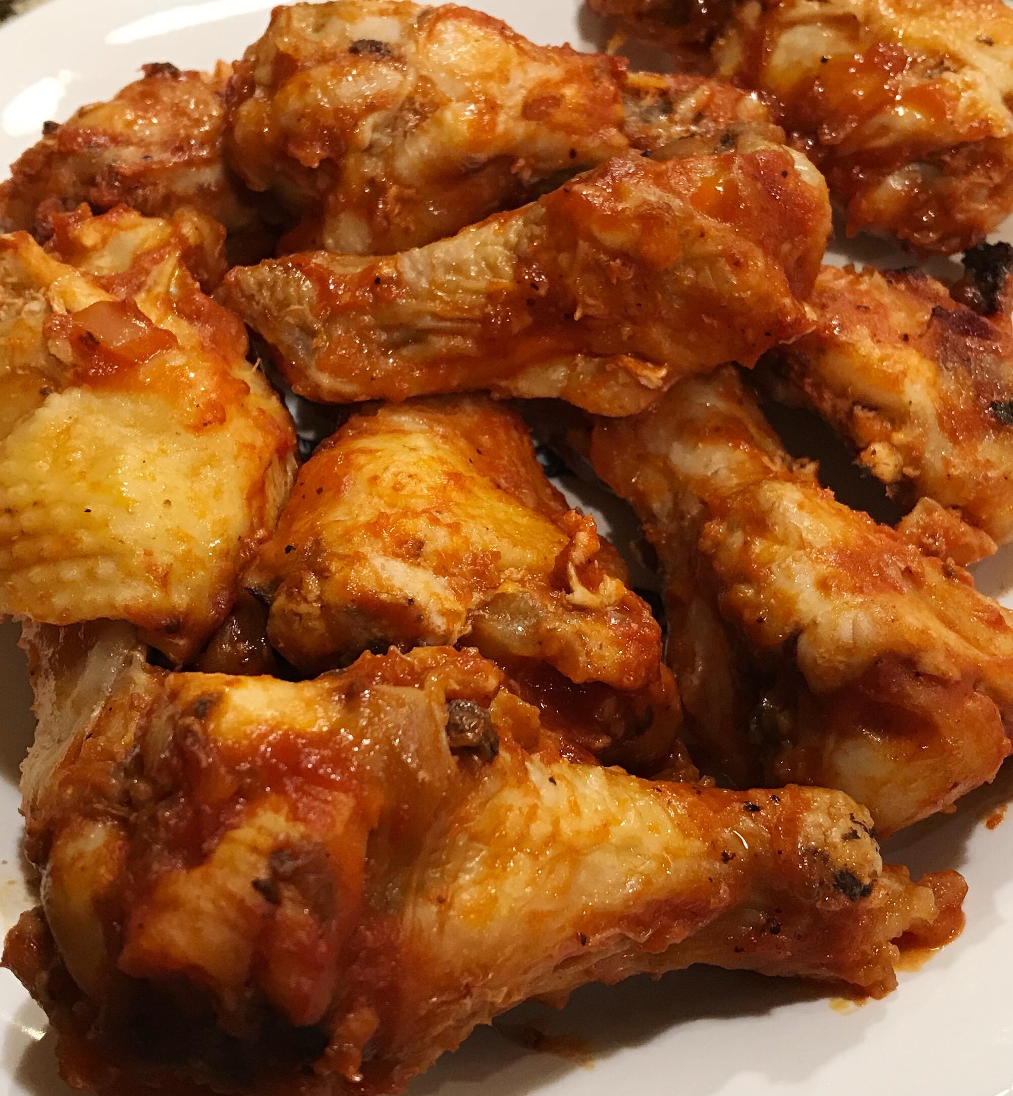 BBQ Chicken Wings 01
