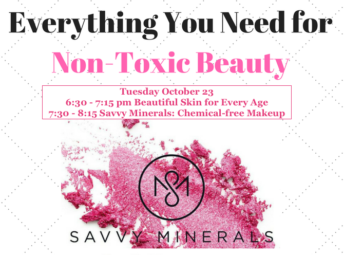 Class YL Savvy Minerals Graphic for October 2018 Class